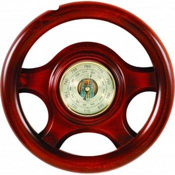 Штурвал сувенирный с16 барометр