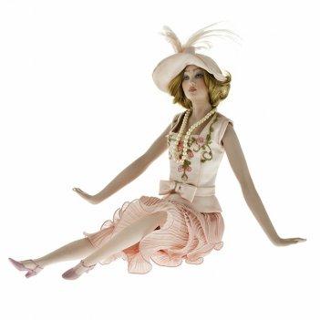 Кукла фарфоровая lidia, h 22 см