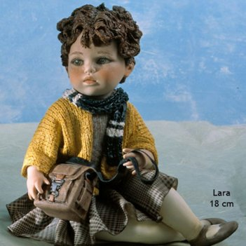 Lara (153w) фарфоровая статуэтка, h.18 см