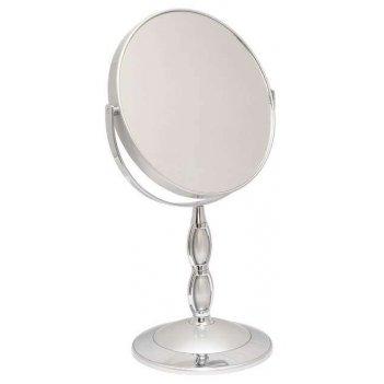 Зеркало b7 8066 s3/c silver наст. кругл. 2-стор. 5-кр.ув.18