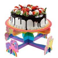 Подставка под торт с персонажем с днем рожденияпони