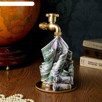 Сувенир «денежный кран на подставке»