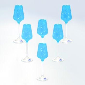 Набор рюмок для водки crystalex bohemia sandra 65 мл(6 шт)