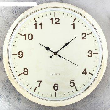 Часы настенные, серия: класиика, риджли, d=40 см