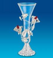 Ar-1375 ваза розы посеребр. (юнион)