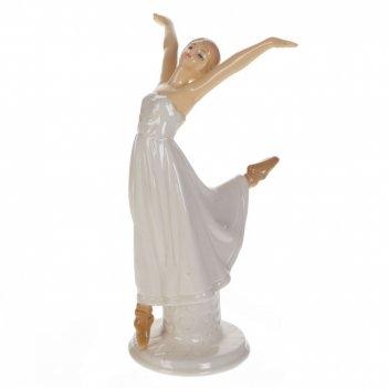 Фигурка декоративная балерина, l10 w9 h16 см