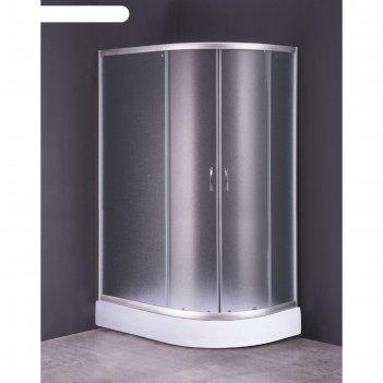 Душевое ограждение loranto cs-827al, 120x80x195 см, левая, стекло 4 мм, ни