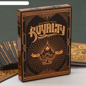 Игральные карты royalty 54 карт.
