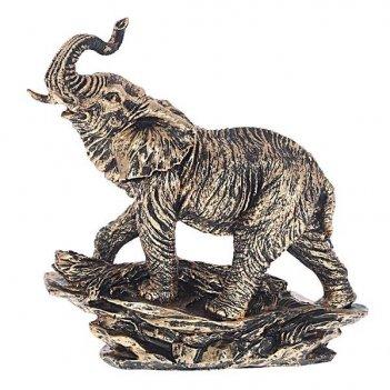 Статуэтка слон (бронза), l27 w15 h34 см