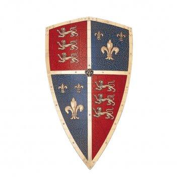 Щит рыцарский - декоративный черный принц