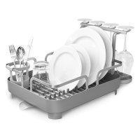 Сушилка для посуды holster, материал: пластик, нержавеющая сталь, размер:
