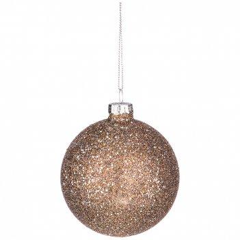 Декоративное изделие шар блеск диаметр=8 см (мал-12 шт./кор=96 шт.)