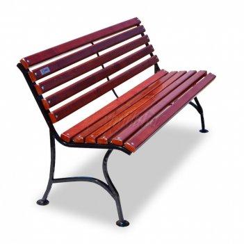 Скамейка «элегант» без подлокотников 1,2 м