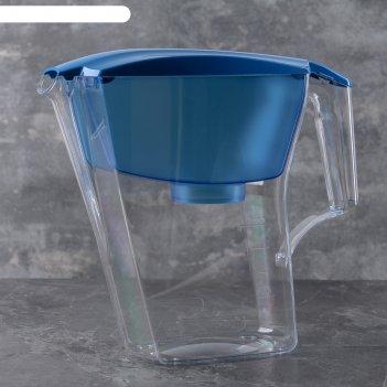 Фильтр-кувшин 2,8 л аквафор-лайн, цвет синий