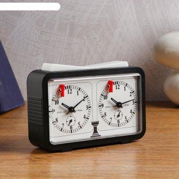 Часы шахматные механические, 9008, 21х11х 5 см