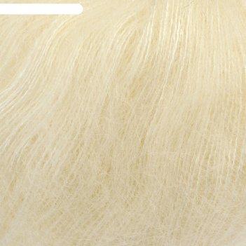 Пряжа atlas 49% шерсть, 51% полиэстер, 250м/50гр (62 молочный)