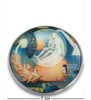 Pr-m26jb зеркальце сад земных наслаждений босх, фрагмент (museum.parastone