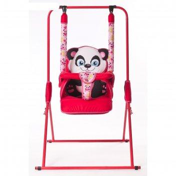 Качели детские напольные «новинка. панда»