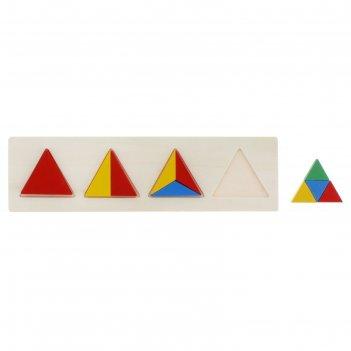 Головоломка треугольники, 10 элементов