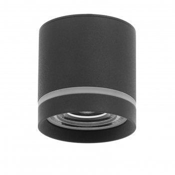 Светильник 86608/1 led 7вт 4000к черный 8,5х8,5х9 см
