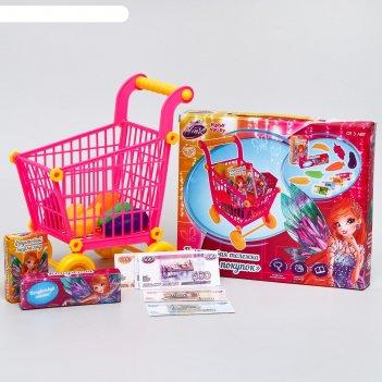 Игровой набор winx магия покупок, 26 предметов