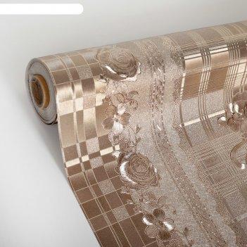 Клеенка столовая на ткани (рулон 20 метров), ширина 139 см, толщина 0,3 мм