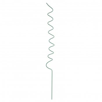 Кустодержатель, d = 6 см, h = 80 см, металл, зелёный, «спираль»