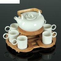 Набор чайный эстет, 5 предметов: чайник с подогревом 600 мл, 6 кружек 100