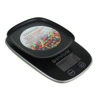Весы электронные кухонные endever skyline ks-526, до 5 кг, жк-дисплей, чер