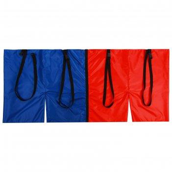 Шорты эстафетные, две штанины с лямками, взрослые