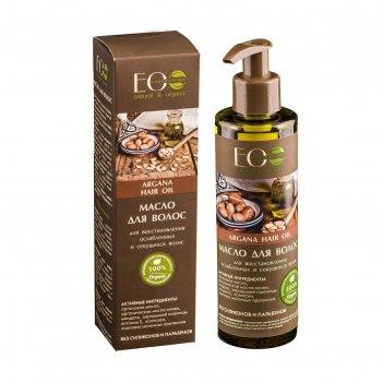 Масло для волос ecolab для восстановления ослабленных и секущихся волос, 2