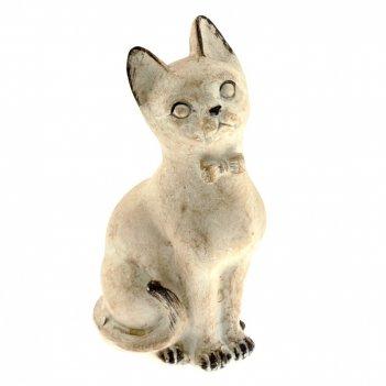 Фигурка декоративная кошка, l8 w6 h15 см