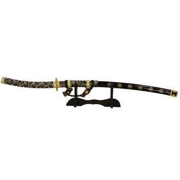 Меч самурая - катана на подставке 107см  31102