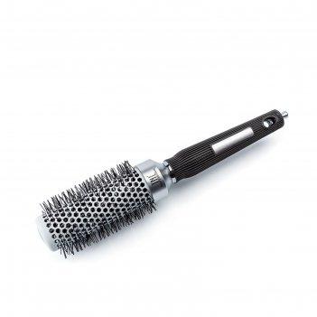 Термобрашинг для волос tnl, алюминиевое покрытие, нейлоновые штифты, d 32