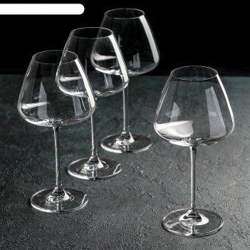 Набор бокалов для вина 590 мл bordeaux glass, 4 шт