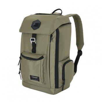 Рюкзак wenger 18, оливковый, полиэстер 900d, 28,5x17x46 см, 22 л