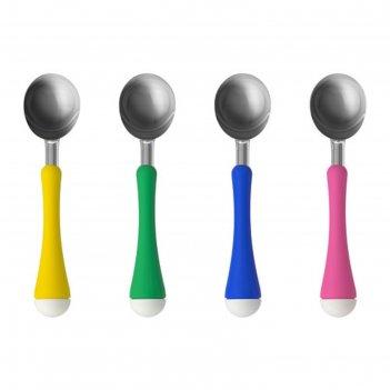 Ложка для мороженого, желтый/зеленый, синий/розовый чосигт