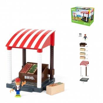 Brio игр.наб.магазинчик,11 предм.,20х12х15см,кор.