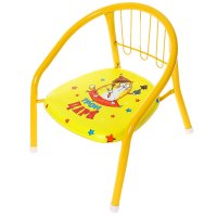 Детский стульчик трон царя с пищалкой, мягкое сиденье 27 х 27 см