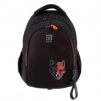 Рюкзак школьный с эргономичной спинкой kite 8001, 40 х 29 х 17, для мальчи