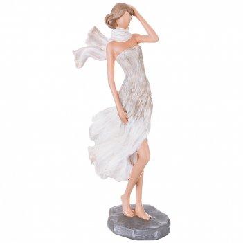 Статуэтка девушка 12,5*7*25,5 см. серия фьюжн (кор=12шт.)