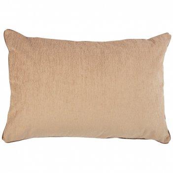 Подушка декоративная лаунж 40х60см,100% п/э,бежевый.