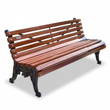 Скамейка чугунная «белые ночи» 1,5 м