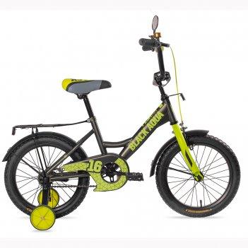 Kg1227 2-х колесный велосипед ba fishka 12, с ручкой, матт со светящимися