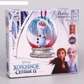 Набор для творчества с эпоксидной смолой олаф, елочная игрушка, холодное с