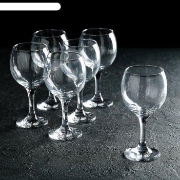 Набор фужеров для вина 290 мл bistro, 6 шт.