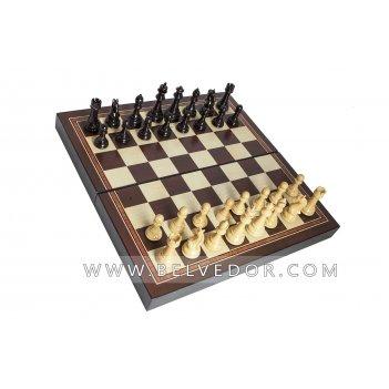 Подарочные шахматы каспаров, 30х30 см.