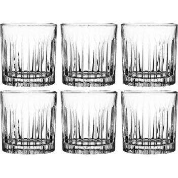 Набор стаканов для виски из 6 шт. timeless 300мл. высота=9см. (кор=1набор.