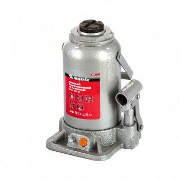 Домкрат гидравлический бутылочный, 20 т, h подъема 244-449 мм matrix