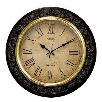 Большие настенные часы sinix 5040b